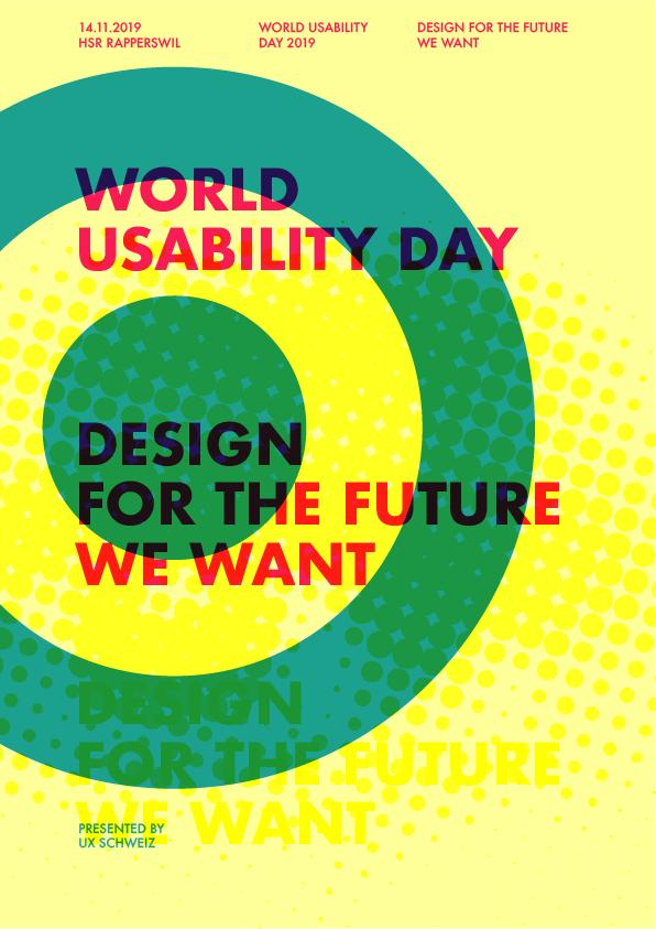 Poster für den WUD 2019